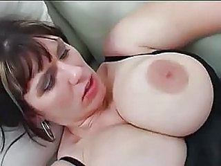 Big Tits Bus MILF Natural Nipples