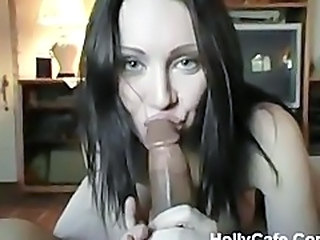 Amateur Big cock Blowjob Interracial MILF Pov
