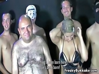 Busty Spanish blonde slut loves getting part2