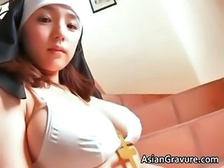 Amazing Asian Big Tits Cute Natural Teen