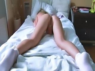 Ass Blonde Homemade Masturbating Solo Teen