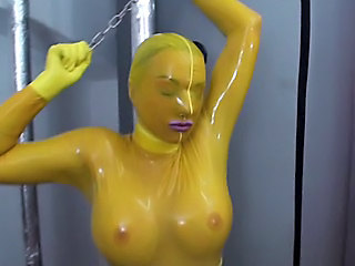 Amateur:  Huge booby shower -cogswell