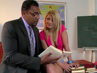 Babe Blonde Interracial Natural Pornstar School Student