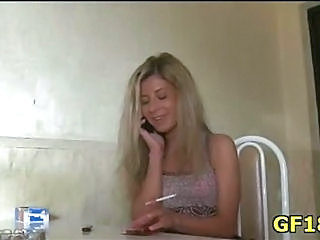 Amateur Cute Smoking Teen