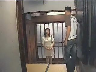 Married Japanese woman is tak...