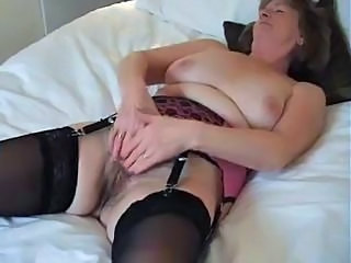Adorable British Granny Enjoys A Good Wank