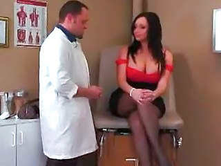 Big Tits Doctor MILF Pantyhose Pornstar Uniform