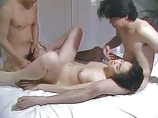 Asian Hardcore Japanese Small Tits Teen Threesome