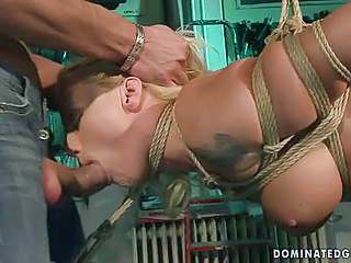 Dirty Slut Bound And Deep Throat...