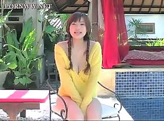 Asian Babe Japanese Outdoor Pigtail Pool Pornstar