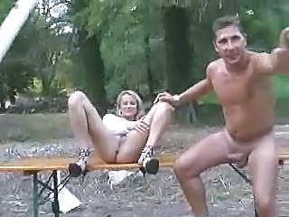 Forest Fencepost Anal Fuck By Snahbrandy