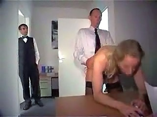 Mature Secretary Gets Several Cocks In Ass In The Offce
