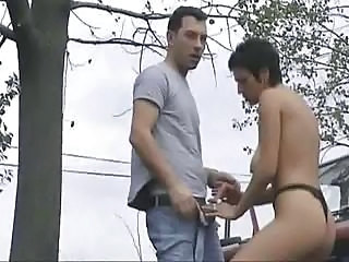Sex with My Boyfriend outdoors
