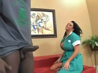 Lusty Maid Angelica Sin Loves Her Throat Fucked By Monster Cock