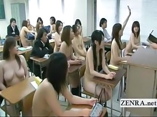 Asian Japanese Nudist School Student Teen