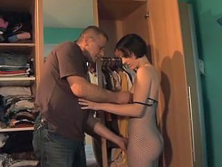 Daddy Daughter Lingerie Old and Young Teen