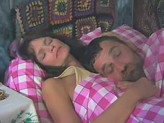 MILF Russian Sleeping Vintage Wife