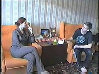 Amateur Homemade Russian Sister Smoking Teen
