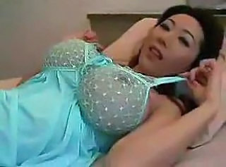 Amazing Asian Big Tits Japanese Lingerie MILF