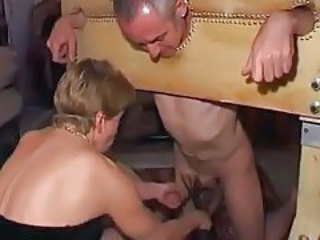 Kinky party with subs and dominants tubes