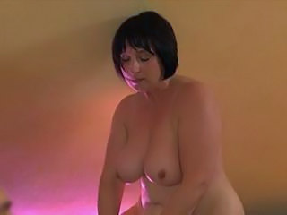 Chubby European German Mature MILF SaggyTits