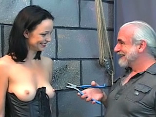 Electro BDSM play sex game