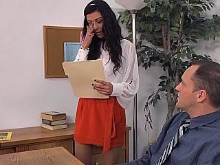 French Office Secretary Skirt