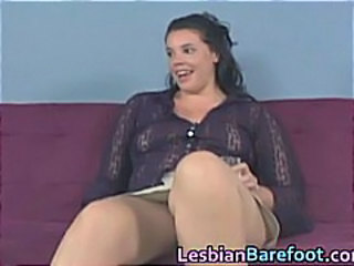 Hot Lesbians Pussy Licking and Toes part6