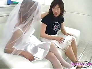 Asian Bride Japanese Lesbian Wife