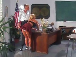 Ass Blonde Panty School Teacher