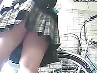 Asian  Skirt Voyeur