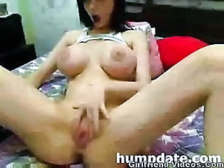 Amazing Big Tits Bus Teen Webcam