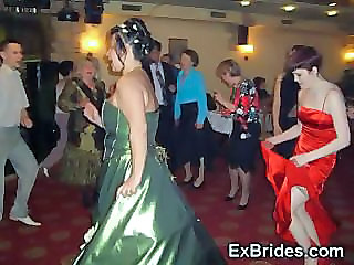 Bride Dancing Drunk Party