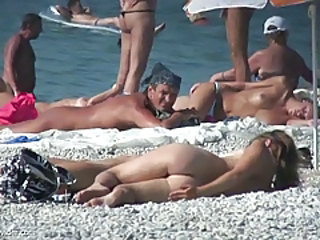 Beach Nudist Voyeur