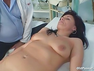 Doctor Mature Older SaggyTits