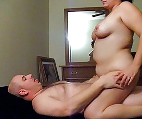 BBW Homemade Older Riding Wife