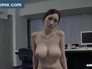 Asian Big Tits Chinese MILF Natural Office