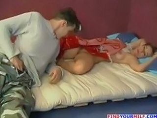 Amateur Mature Mom Old and Young Russian Sleeping