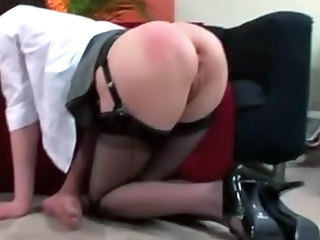 Mature British little one in stockings fucks her spouse
