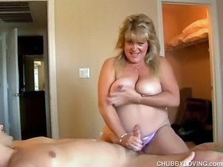 BBW Big Tits Handjob MILF Natural