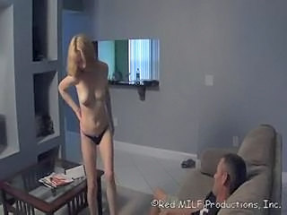 Amateur MILF Panty Stripper