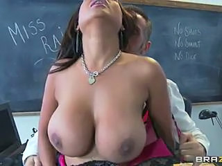Sassy teacher Priya Rai sucks on this tasty fuck shaft