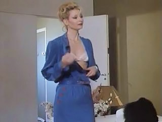 Blonde European French MILF Small Tits Stripper