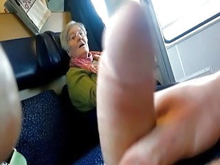 Train Flash To A Granny