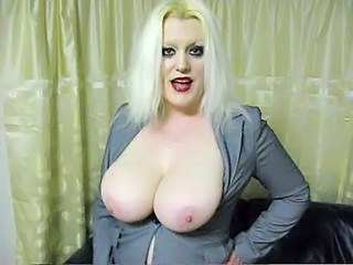 Big Tits Blonde British Chubby European MILF Natural