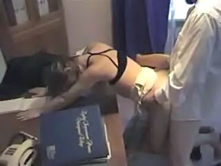 Amateur Doggystyle Hardcore MILF Office Wife
