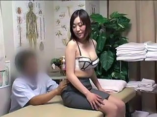 Asian  Japanese Massage MILF Voyeur