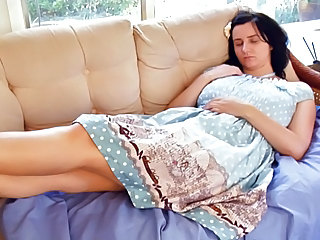 Masturbating MILF Sleeping