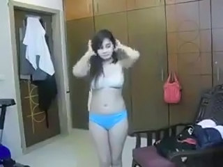 Amateur Indian Lingerie Teen