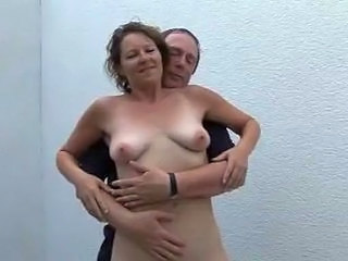 Amateur European German Mature Older SaggyTits